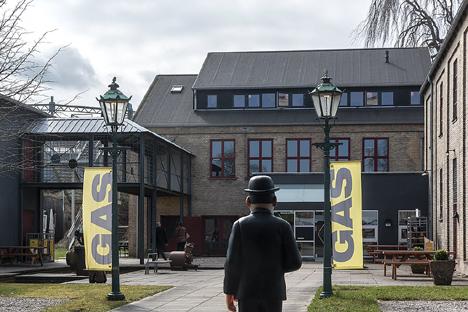 GASmuseet på Sydkajen af Hobro Havn
